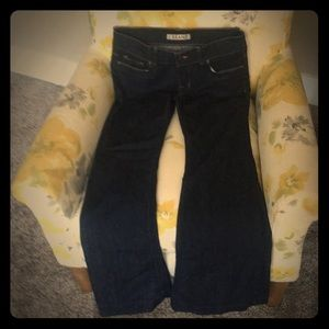 J Brand size 28 Lovestory Ink Flare Jeans So CUTE